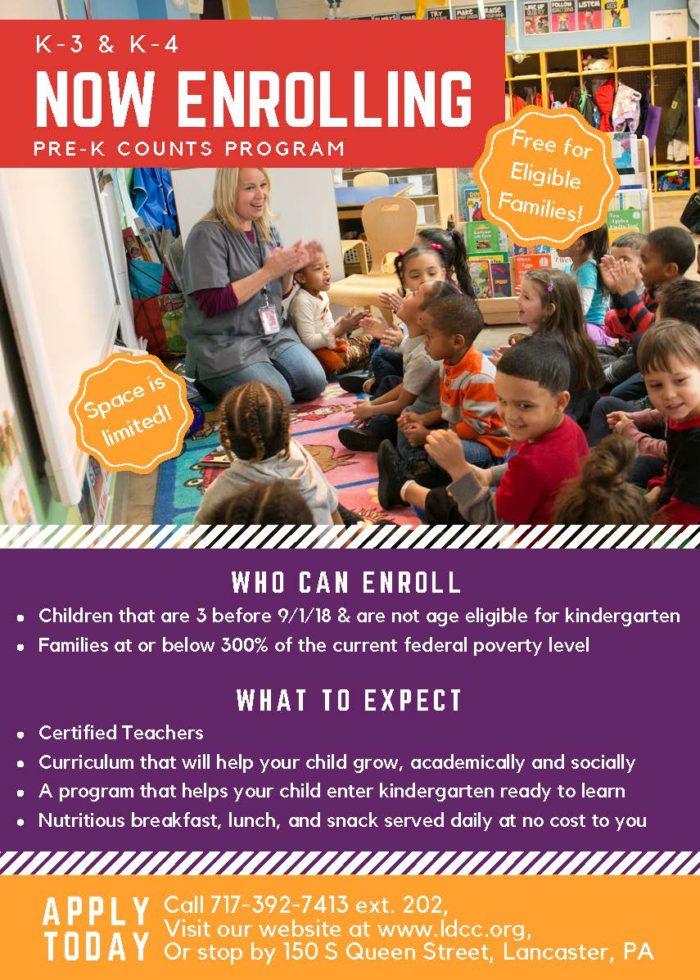 Lancaster Early Education Center Quality Early Care Education